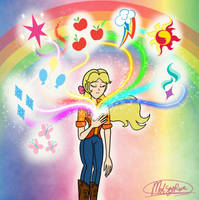 The Rainbow of Light by MelSpyRose