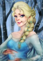 Elsa by Sho-kun