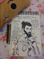 Pen Marker Challenge by Sho-kun