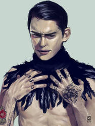 Feather man by Sho-kun