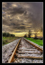 On the rails by JurajParis
