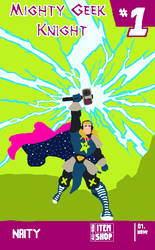 SGN15 Fanart Contest: Mighty Geek by NaityDhimDarell