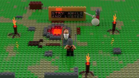Diablo 2 Lego Rogue Camp by NaityDhimDarell