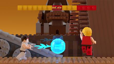 Lego Street Fighter 2 by NaityDhimDarell