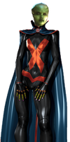 Miss Martian Transparent Background by Gasa979