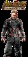 Captain America Infinity War PNG by Gasa979