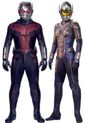 Ant-Man and The Wasp PNG by Gasa979