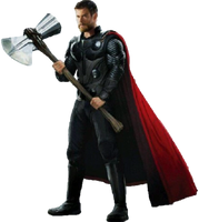 Thor :Concept Art PNG by Gasa979