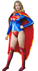 Supergirl New 52 :Transparent Background by Gasa979