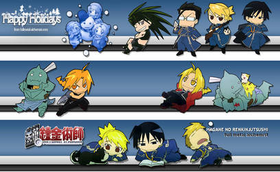 Fullmetal Alchemist screenshot by DragonKingII