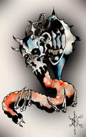 Necrobot, the Secret Satan Gift by Gniedmann