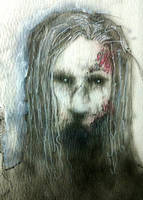 ACEO : Zombie by Devin-Francisco