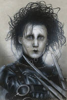 Edward Scissorhands  by Devin-Francisco