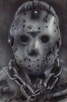 Jason Voorhees (Part 7) by Devin-Francisco