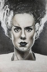 Bride of Frankenstein  by Devin-Francisco
