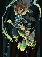 Avatar girls by ming85