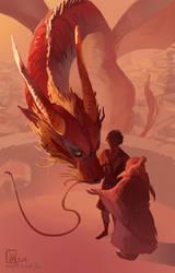 Dragon fanart by ming85