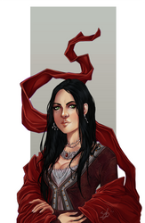 :COMM: Veronah Contini by Sybarico