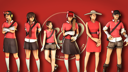 SFM - Femscout's Evolution by wnses286