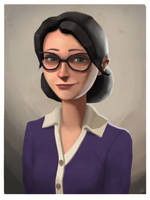 Miss Pauling portrait by wnses286