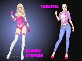 Blonde Avenger's secret identity by tramusser