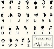 Precursor Alphabet by ThebSayraduka