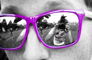 Self Portrait - Sunglasses by LeftSideOfRight