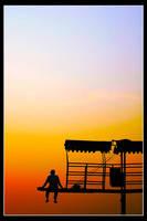 Enjoying Sunrise by sigpras