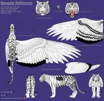 Bangala reference sheet by SarahFraggle