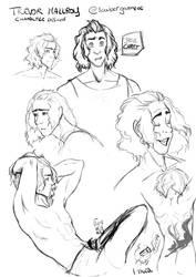 Character study - Trevor Mallroy by SunVenice