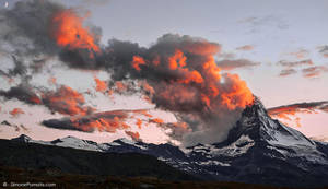 Matterhorn Volcano? by SimonePomata