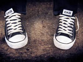 All Star Converse by fir3hand