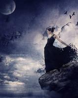 raven girl by fir3hand