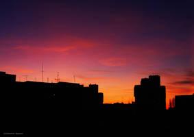 skyline by fir3hand