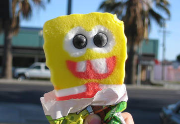 Sponge Bob Ice Cream by jennyfur