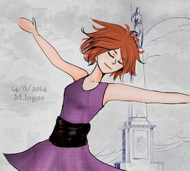 Drawing - Sai 7 by Menami