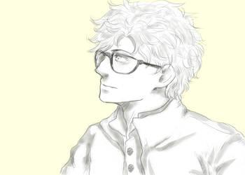 Drawing - PS1 by Menami