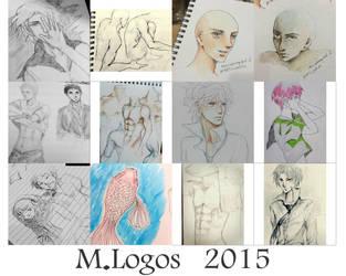 Random sketches 1 by Menami