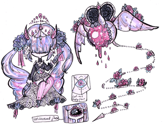 XynthiiMYO custom-Marble Sculpture and Eyebat by Guppie-Vibes