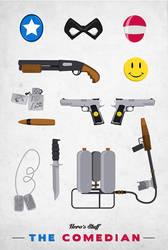 Hero's Stuff by AieAieEye