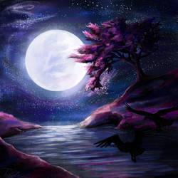 Moonlit Memory by ShadyPotatoDragon