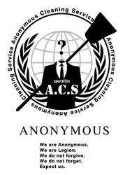 Anonymous Cleaning Service #OpACS - W by maggiemgill