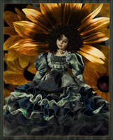 Helianthus Doll by bananacosmicgirl