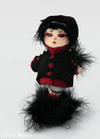 Raven Doll by psycho-kitty