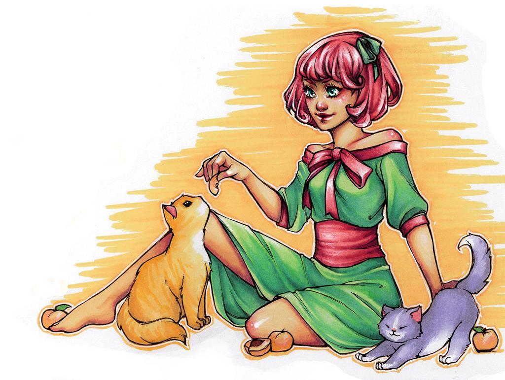 Neko~Momo by psycho-kitty