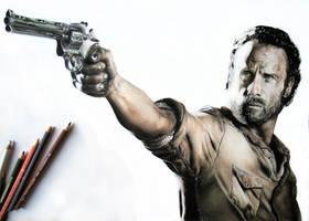 Sherrif - The Walking Dead by EnergizerII