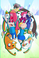 Adventure Time by jiggly