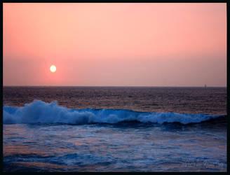 Sunset at Keauhou 2009 by daydrop