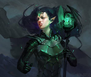 Descendant of Dragons by OlgaDrebas