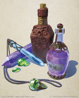 Arcane Items by OlgaDrebas